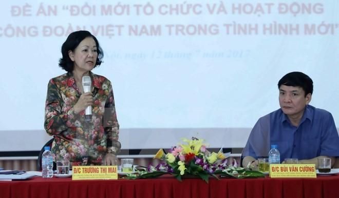 Комплексное и эффективное обновление работы вьетнамских профсоюзов - ảnh 1