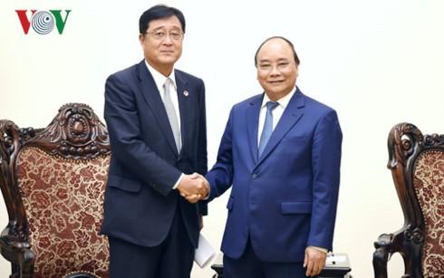 Премьер Вьетнама принял исполнительного директора корпорации Mitsubishi Motors - ảnh 1