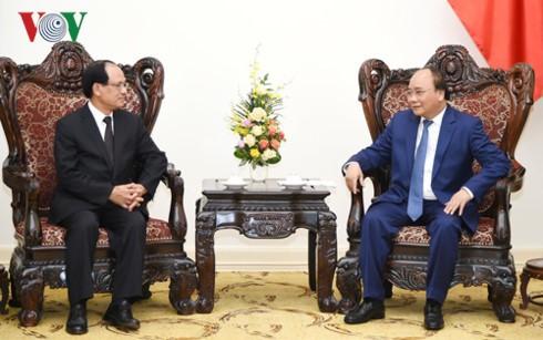Премьер-министр Вьетнама принял генсекретаря АСЕАН - ảnh 1