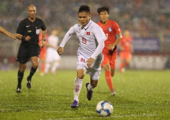 Сборная Вьетнама вышла в финал Чемпионата Азии по футболу до 23 лет - ảnh 1