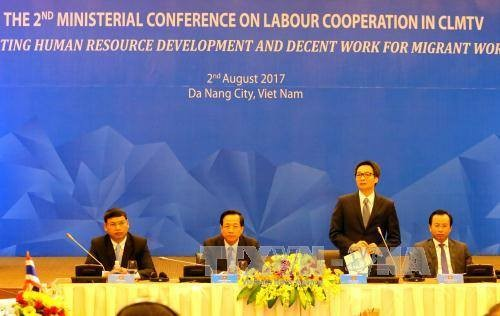Вьетнам, Камбоджа, Лаос, Мьянма и Таиланд активизируют трудовое сотрудничество - ảnh 1