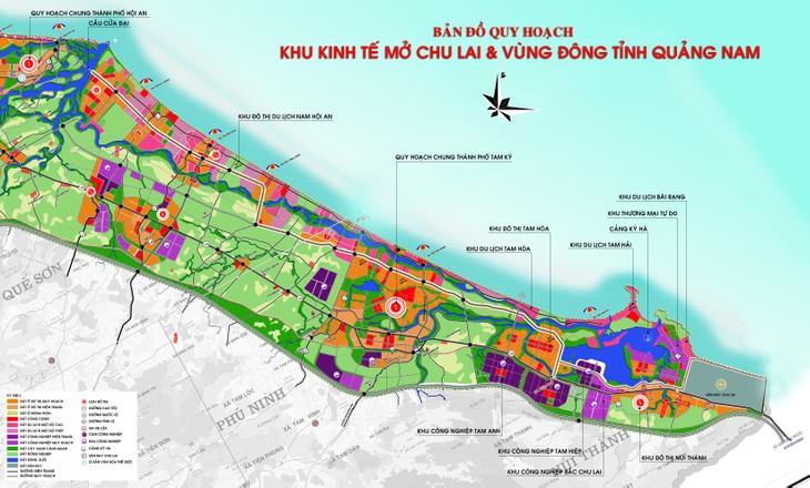 Провинция Куангнам развивает понтенциал своих приморских экономических зон - ảnh 1