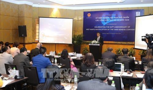 Вьетнам способствует реализацию Женевских конвенций о международном гуманитарном праве - ảnh 1