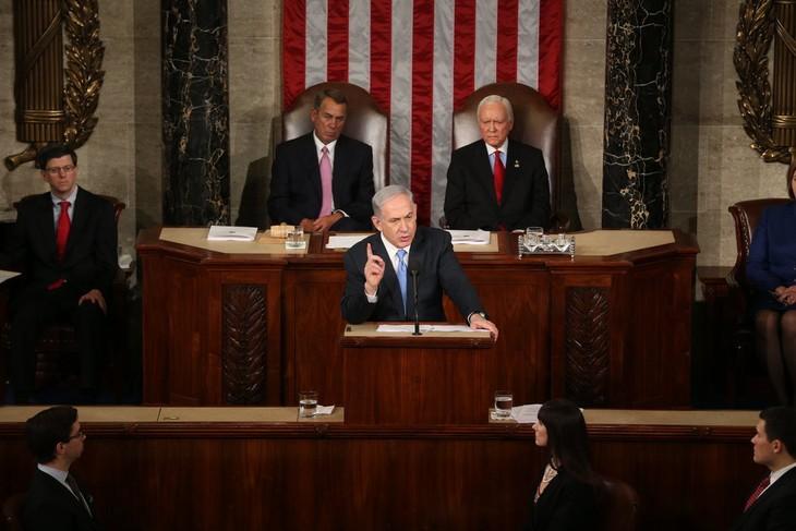 Israeli PM addresses US Congress on Iran's nuclear program - ảnh 1