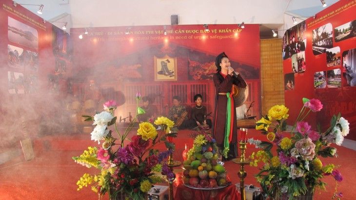 "Traditional folk music program ""Ha Thanh, 36 Old Quarters""  - ảnh 4"