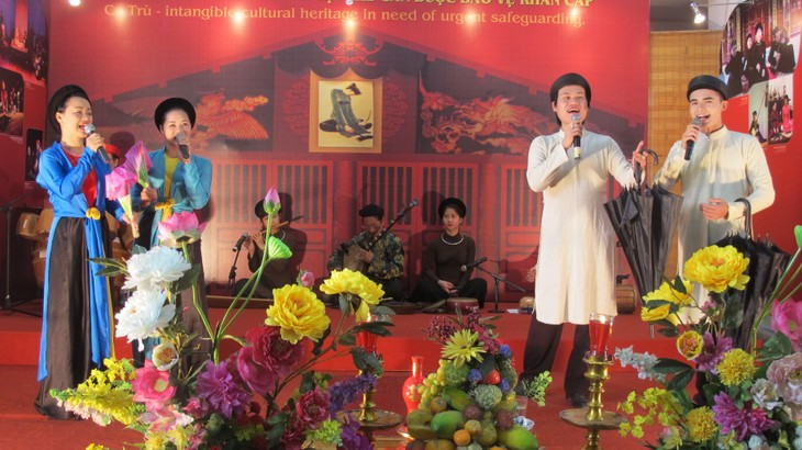 "Traditional folk music program ""Ha Thanh, 36 Old Quarters""  - ảnh 5"
