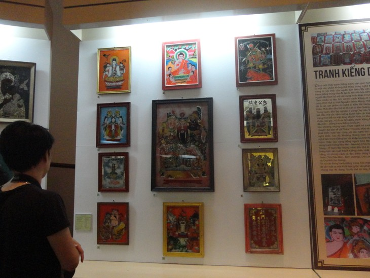 """""""12 typical kinds of Vietnamese folk paintings"""" exhibition  - ảnh 3"""