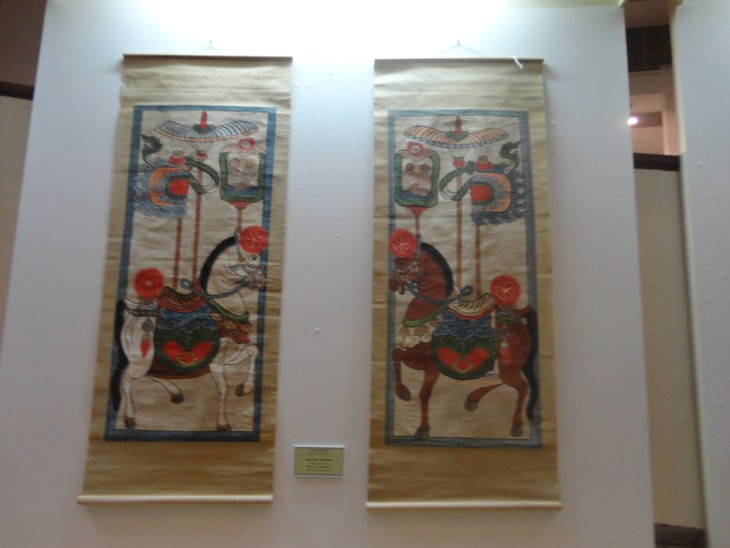 """""""12 typical kinds of Vietnamese folk paintings"""" exhibition  - ảnh 2"""