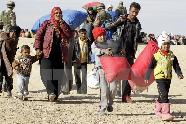 Refugiados sirios en Jordania reciben programa de enseñanza en línea sobre sus derechos - ảnh 1