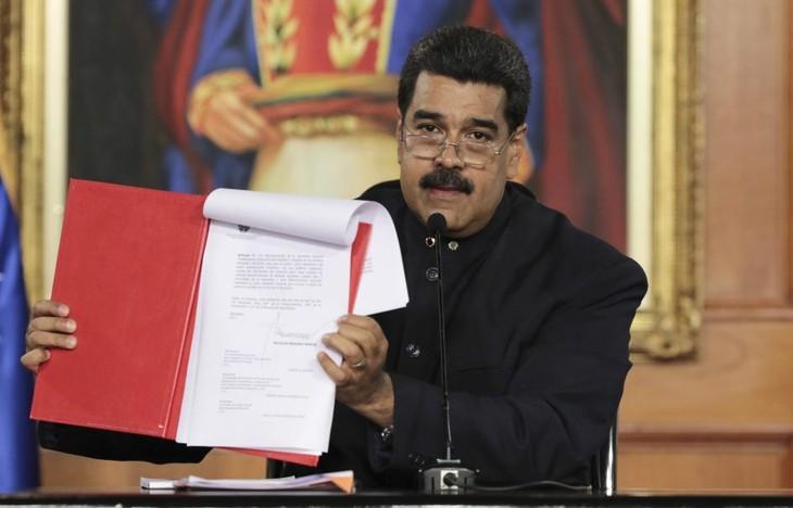 Presidente Nicolás Maduro convoca a una Asamblea Nacional Constituyente en Venezuela - ảnh 1