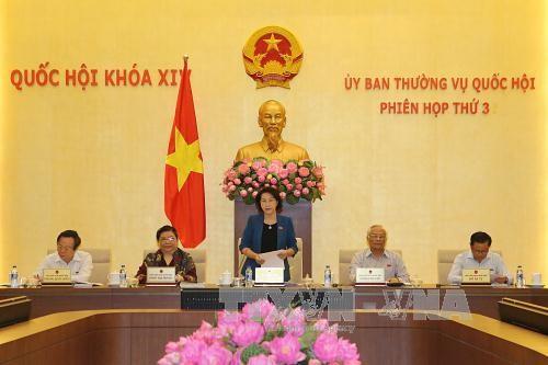 Inauguran décima reunión del Comité Permanente de la Asamblea Nacional de Vietnam - ảnh 1