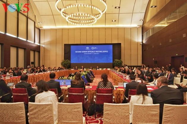 Más de 200 delegados participan en la segunda Reunión de Altos Funcionarios del APEC en Hanoi - ảnh 1