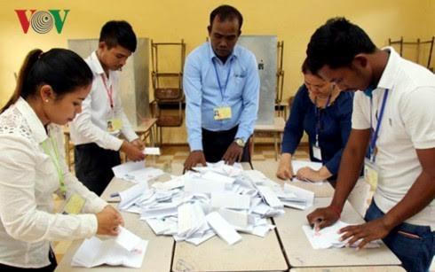 Partai CPP menang dalam pemilihan tingkat kecamatan di Kamboja - ảnh 1