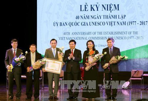 Conmemoran 40 años del establecimiento del Comité Nacional de Vietnam en la Unesco - ảnh 1