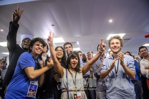 Partido de Macron gana la primera vuelta de las legislativas francesas - ảnh 1