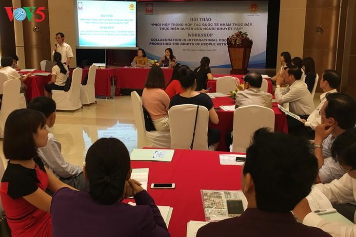 Promueven la ejecución de derechos de las personas con discapacidad en Vietnam - ảnh 1