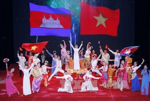 Conmemoran 50 aniversario del establecimiento de las relaciones diplomáticas Vietnam-Camboya - ảnh 1
