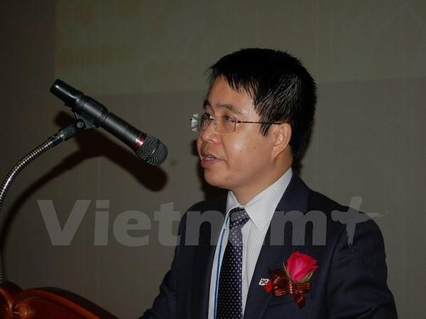 Jóvenes científicos vietnamitas en Corea del Sur celebran su IV Congreso  - ảnh 1