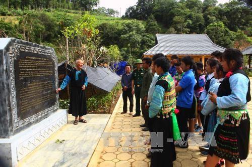 Lao Kho, sitio histórico de la amistad Vietnam-Laos - ảnh 2