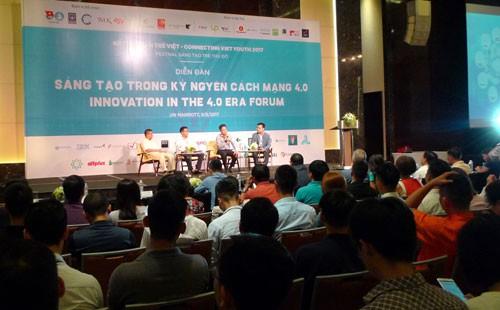 Incentivan creatividad juvenil vietnamita para responder a la cuarta revolución industrial - ảnh 1