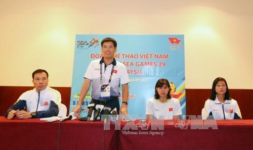 Vietnam mantiene la tercera posición en el medallero de los Juegos del Sudeste Asiático 2017 - ảnh 1