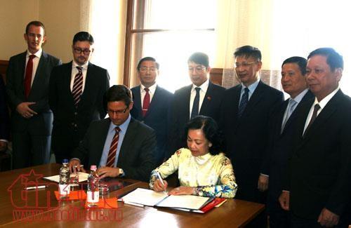 Vietnam aspira a fomentar lazos parlamentarios con Hungría - ảnh 1
