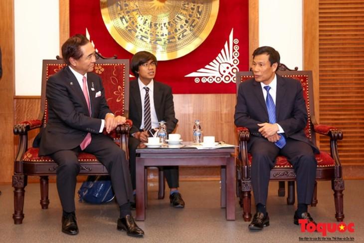 Promueven la cooperación cultural, deportiva y turística entre Vietnam y Kanagawa - ảnh 1