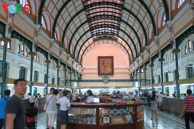 Oficina Central de Correos de Ciudad Ho Chi Minh, un patrimonio arquitectural - ảnh 2
