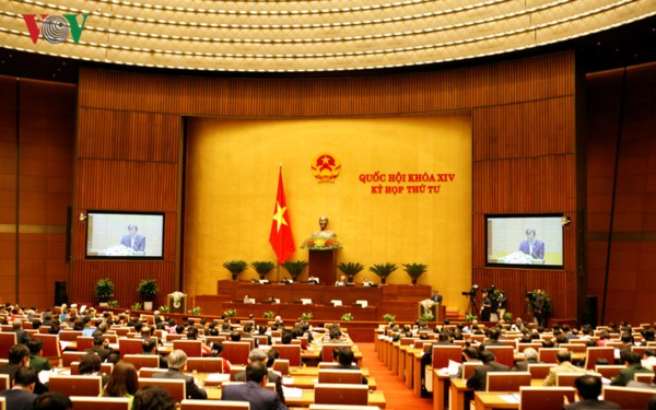 Empieza la tercera semana laboral de las reuniones del Parlamento vietnamita - ảnh 1