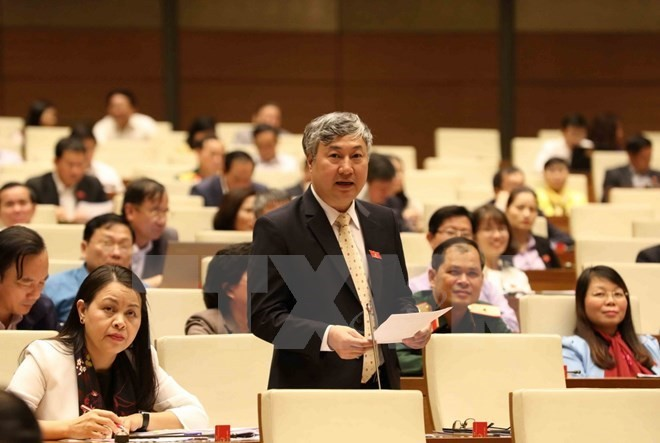 Diputados vietnamitas debaten la modificada Ley de Denuncia - ảnh 1