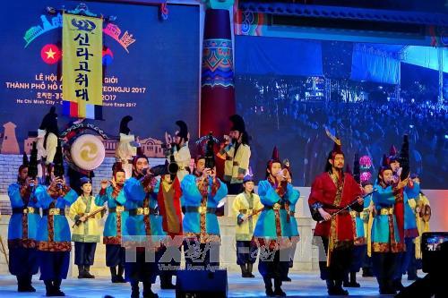 Intercambio cultural entre Ciudad Ho Chi Minh y la ciudad surcoreana de Gyeongju - ảnh 1