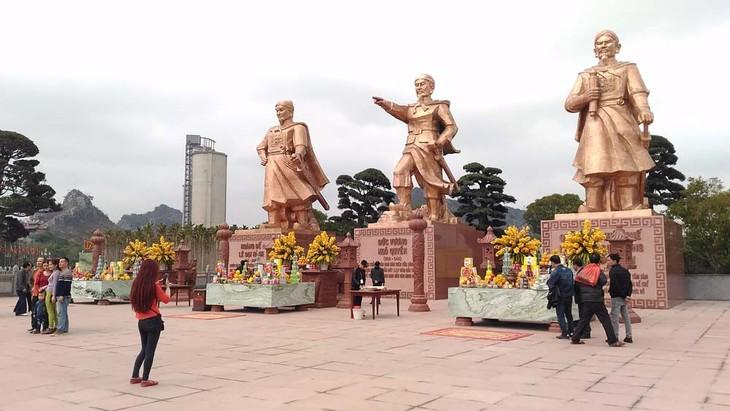 Zona de reliquias de Bach Dang, testigo de las victorias históricas de Vietnam contra los invasores  - ảnh 1