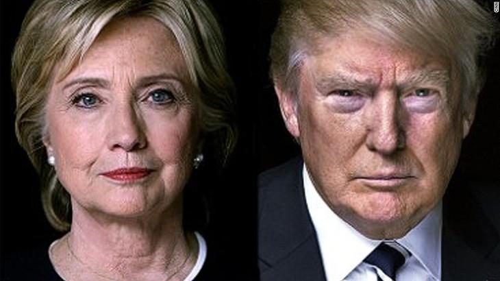 USA 2016 : l'avance de Clinton sur Trump diminue - ảnh 1