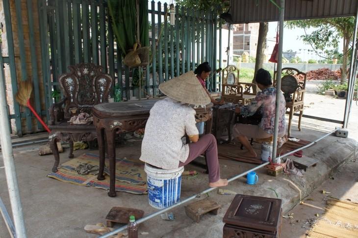 Hai Minh, le village de la menuiserie d'art   - ảnh 3