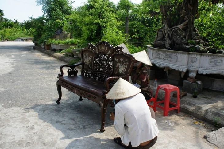 Hai Minh, le village de la menuiserie d'art   - ảnh 2
