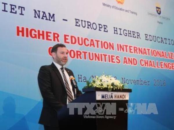 Ouverture du forum sur l'enseignement supérieur Vietnam-Europe - ảnh 1