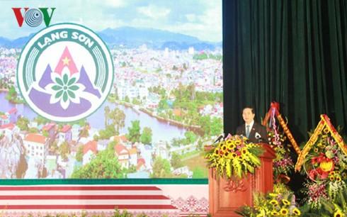 La province de Lang Son fête son 185ème anniversaire - ảnh 1