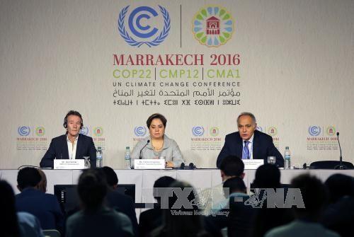 Les négociations climatiques de la COP 22 s'ouvrent à Marrakech - ảnh 1