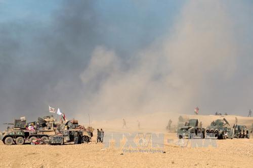 Irak: forte résistance de l'État islamique dans l'offensive de Mossoul - ảnh 1