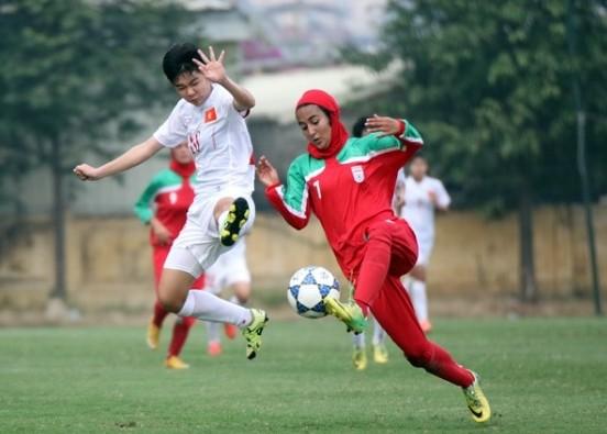AFC U-19 Womens: les Vietnamiennes qualifiées pour la finale - ảnh 1