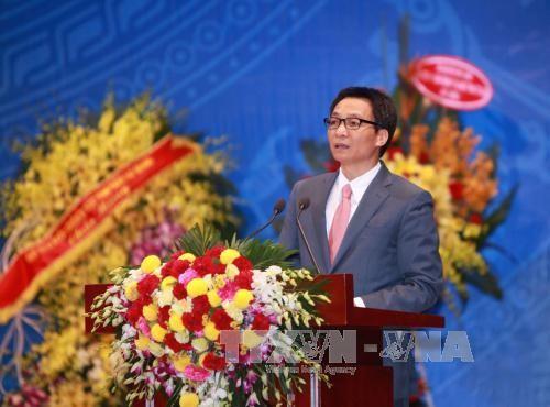 Vu Duc Dam au 50ème anniversaire de l'Association de la physique du Vietnam - ảnh 1