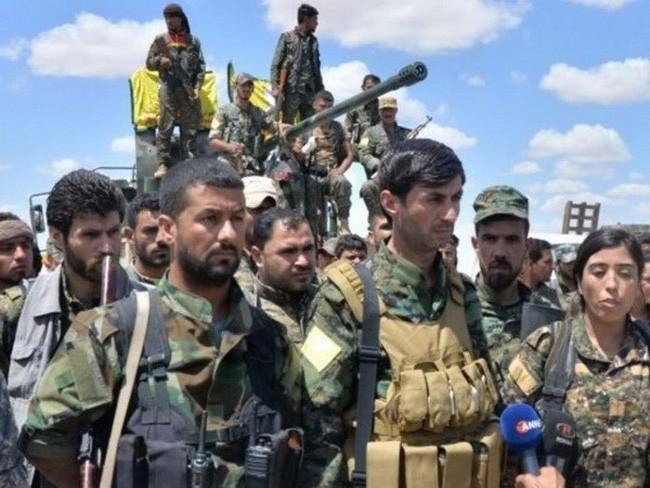 Syrie : les milices kurdes avancent vers Raqqa - ảnh 1