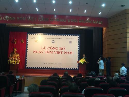 Le 27 août décrété comme journée vietnamienne du timbre  - ảnh 1