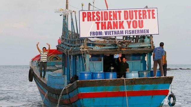 Lettre de remerciement au président philippin pour la libération des 17 pêcheurs vietnamiens - ảnh 1