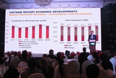 En 2017, l'économie vietnamienne maintiendra une croissance stable - ảnh 1