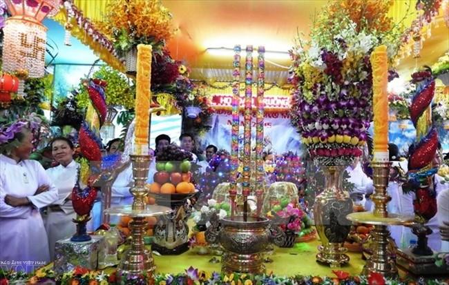 Nguyễn Thiện Nhân félicite les fidèles du caodaïsme - ảnh 1