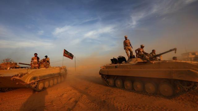 Irak: Les forces ont repris la cité antique de Nimrud - ảnh 1