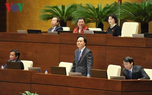 Les électeurs apprécient les réponses du ministre de l'Education et de la Formation - ảnh 1