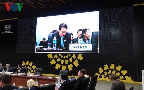 Conférence des officiels de haut rang de l'APEC - ảnh 1