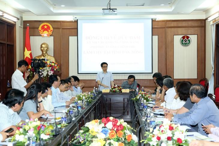 Déplacement de Vu Duc Dam à Dac Nong - ảnh 1